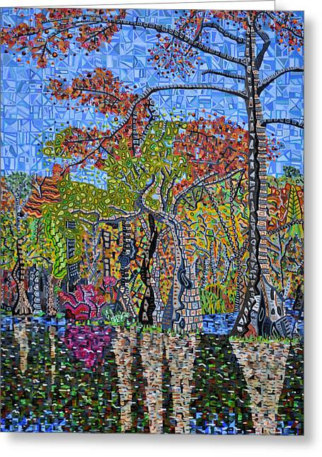 Merchant Greeting Cards - Merchants Millpond State Park 1 Greeting Card by Micah Mullen
