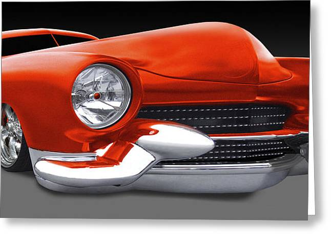 Riders Greeting Cards - Mercury Low Rider Greeting Card by Mike McGlothlen