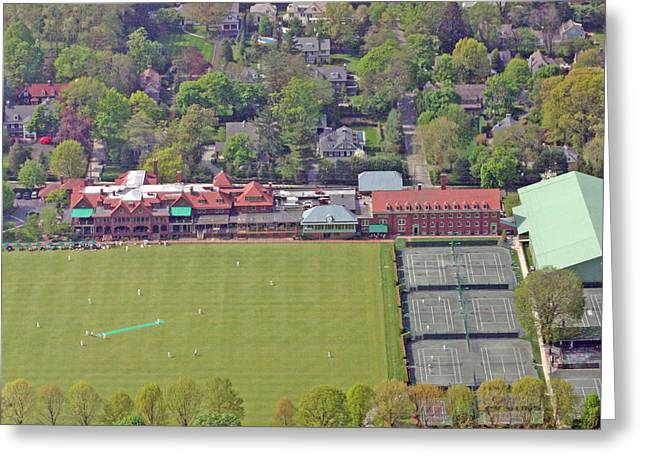 Haverford College Photographs Greeting Cards - Merion Cricket Club Philadelphia Cricket Club Greeting Card by Duncan Pearson