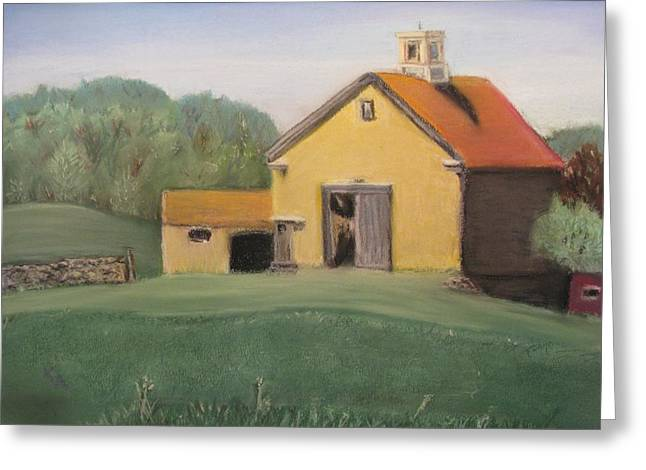 Pleinair Greeting Cards - Merril Farm Greeting Card by Kimberly Abraham