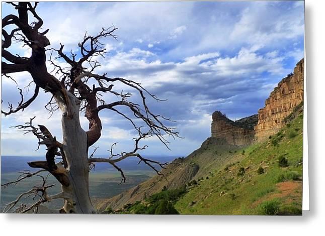 Mesa Verde Greeting Cards - Mesa Verde Mood Greeting Card by Skip Hunt