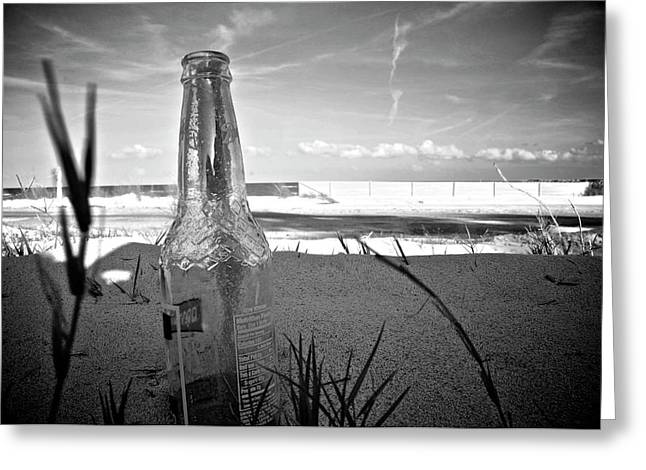 Cs5 Greeting Cards - Message In A Bottle Greeting Card by Alicia Morales