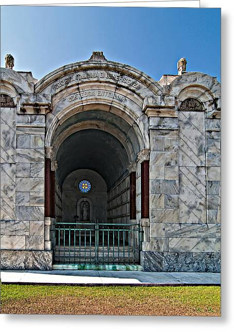 Metairie Cemetery 3 Greeting Card by Steve Harrington