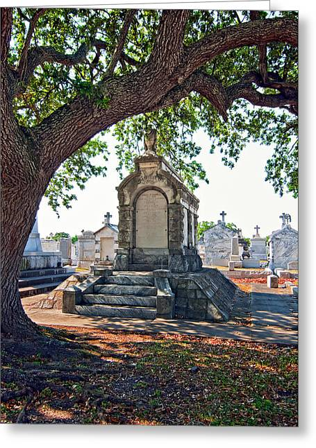 Metairie Cemetery Greeting Cards - Metairie Cemetery Greeting Card by Steve Harrington