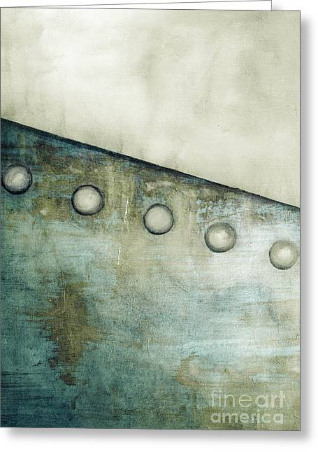 Metal Sheet Greeting Cards - Metal Abstract 2 Greeting Card by Emilio Lovisa