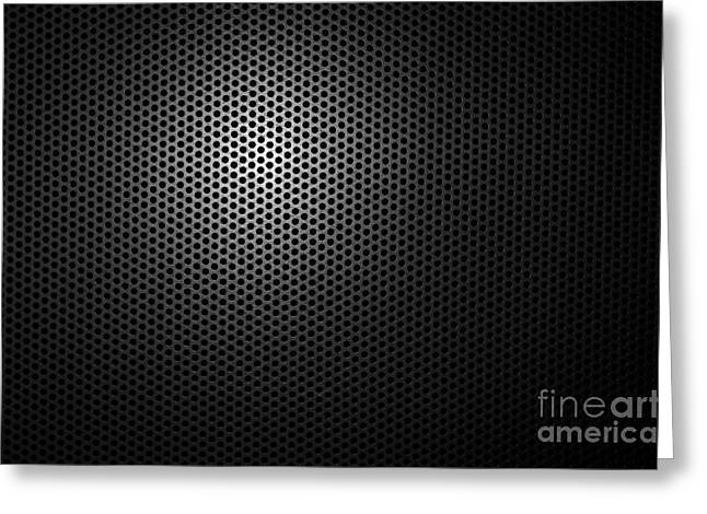 Grate Greeting Cards - Metal grating Greeting Card by Mats Silvan