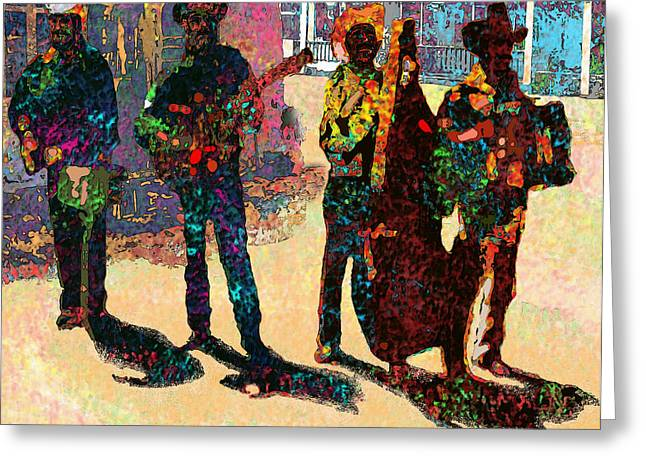 Mexicano Greeting Cards - Mexican Conjunto II Greeting Card by Dean Gleisberg