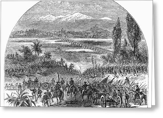 U.s Army Greeting Cards - Mexican War, 1846 Greeting Card by Granger