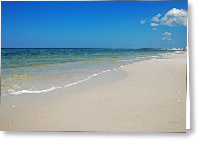 Kay Lovingood Greeting Cards - Mexico Beach Greeting Card by Kay Lovingood