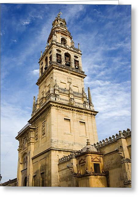 Mezquita Greeting Cards - Mezquita Bell Tower Greeting Card by Artur Bogacki
