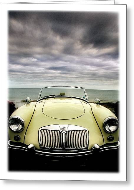 Rally Greeting Cards - MG MGA ....first of a new line. Greeting Card by Mal Bray