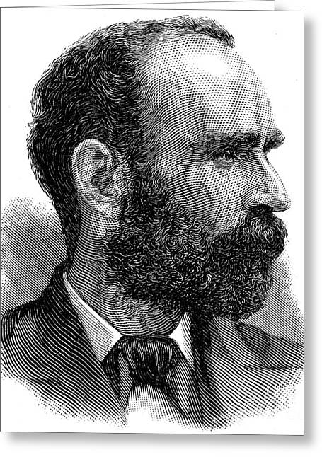 Nationalists Greeting Cards - Michael Davitt (1846-1906) Greeting Card by Granger