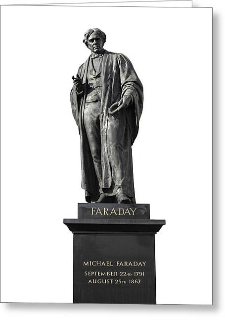 Brock Greeting Cards - Michael Faraday, British Physicist Greeting Card by Martin Bond