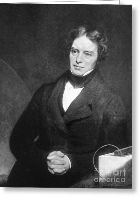 Dynamos Greeting Cards - Michael Faraday, English Chemist Greeting Card by Science Source