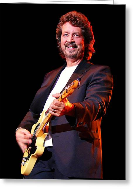 Myeress Greeting Cards - Michael Stanley in Concert Greeting Card by Joe Myeress