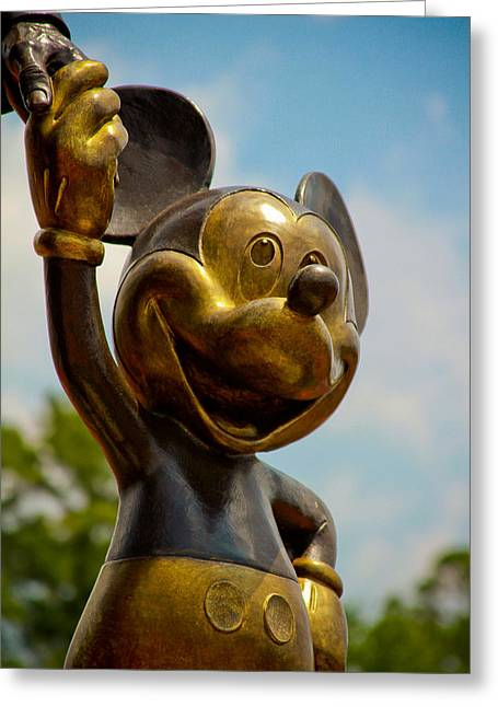 Scuplture Greeting Cards - Mickey and Walty Greeting Card by Andy Spliethof