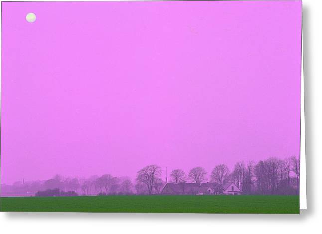 Dk Greeting Cards - Mid-summer storm Greeting Card by Jan Faul