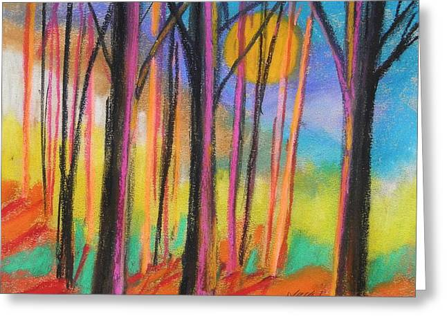 Shade Pastels Greeting Cards - Midday Greeting Card by John  Williams