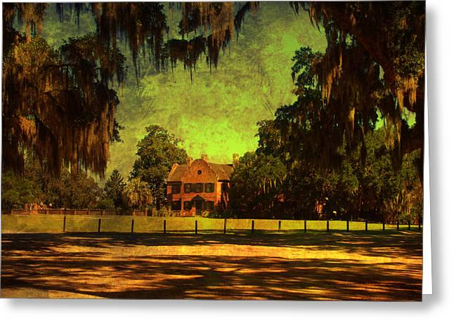 Middleton Greeting Cards - Middleton Place in Charleston Greeting Card by Susanne Van Hulst