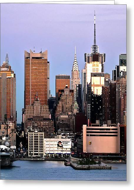 Midtown Manhattan 03 Greeting Card by Artistic Photos