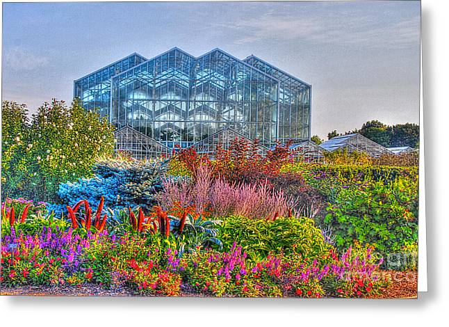 Tone Mapped Greeting Cards - Miejer Gardens revisited Greeting Card by Robert Pearson