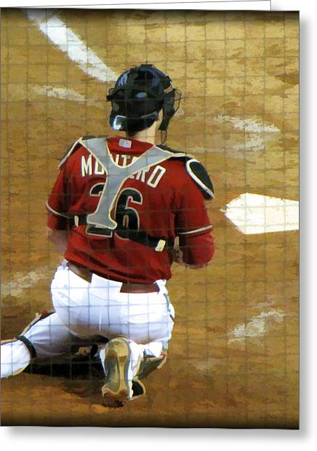 Miguel Montero Greeting Card by Diane Wood