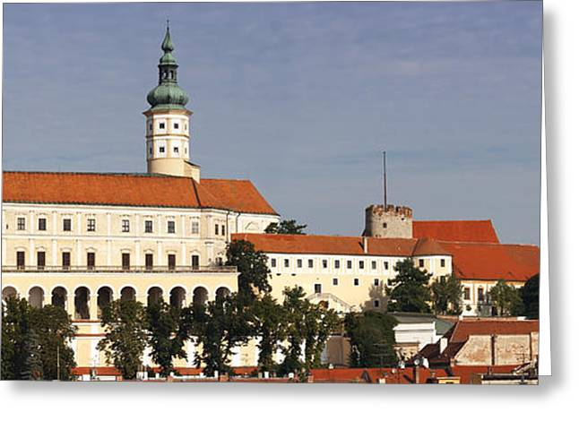 Chateau Greeting Cards - Mikulov castle Greeting Card by Michal Boubin