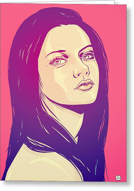 Mila Kunis Greeting Cards - Mila Kunis Greeting Card by Giuseppe Cristiano