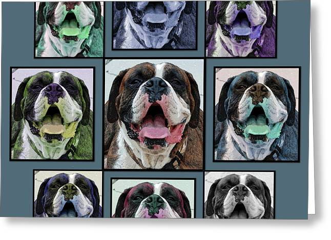 Miles of Smiles Greeting Card by DigiArt Diaries by Vicky B Fuller