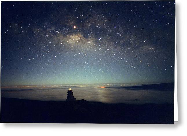 Milky Way Greeting Card by Magrath Photography