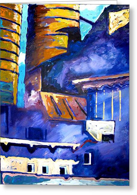 Recently Sold -  - Improvisation Greeting Cards - Mill Viii Greeting Card by Charlie Spear