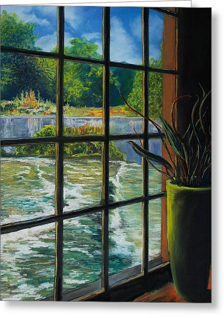 Mill With A View Greeting Card by Bob Northway