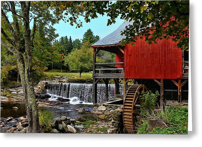 Mill Work  Greeting Card by Lanis Rossi