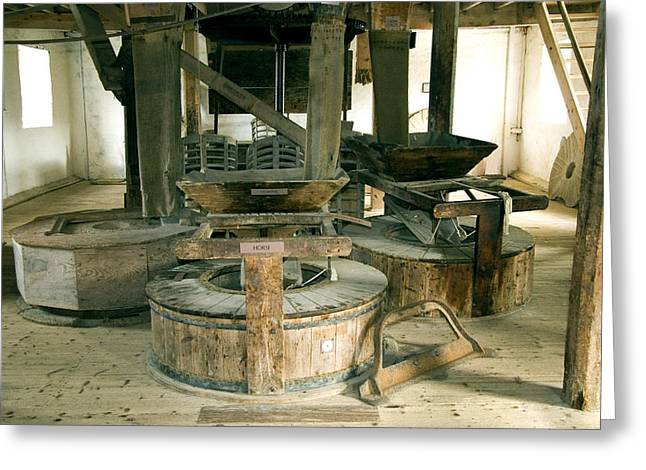 Millstone Greeting Cards - Millstones Greeting Card by Sheila Terry