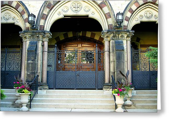 Immanuel Greeting Cards - Milwaukee Church I Greeting Card by Steven Ainsworth