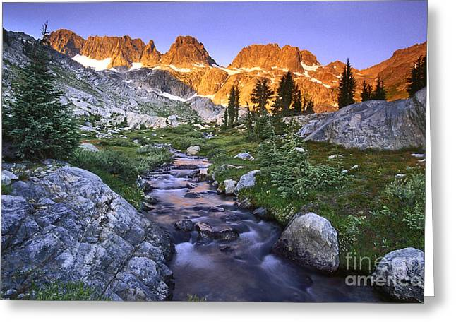 Beautiful Creek Greeting Cards - Minaret Morning Greeting Card by Brian Ernst