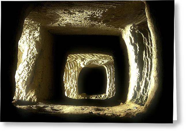 Best Sellers -  - Mining Photos Greeting Cards - Mine gallery Greeting Card by Andonis Katanos