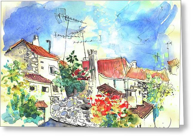 Miranda Greeting Cards - Miranda do Douro in Portugal 03 Greeting Card by Miki De Goodaboom