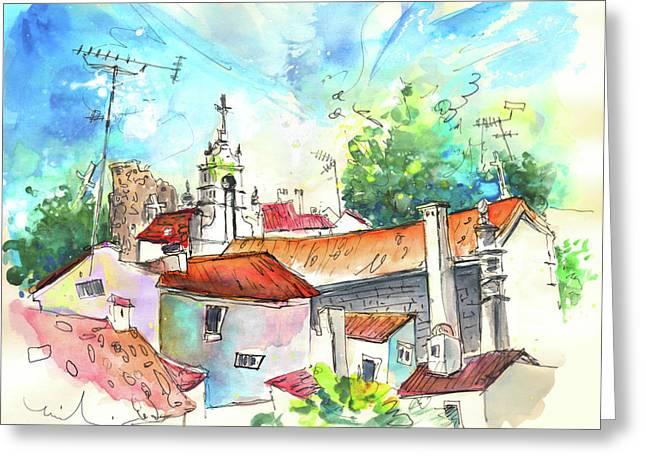 Miranda Greeting Cards - Miranda do Douro in Portugal 04 Greeting Card by Miki De Goodaboom