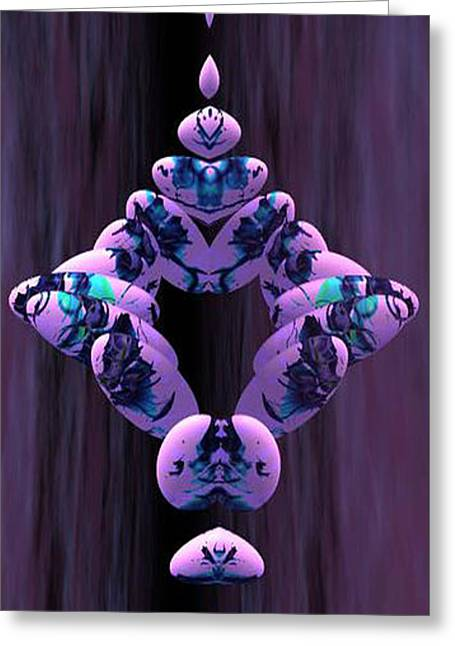 Gina Lee Manley Greeting Cards - Mirror Image Greeting Card by Gina Lee Manley