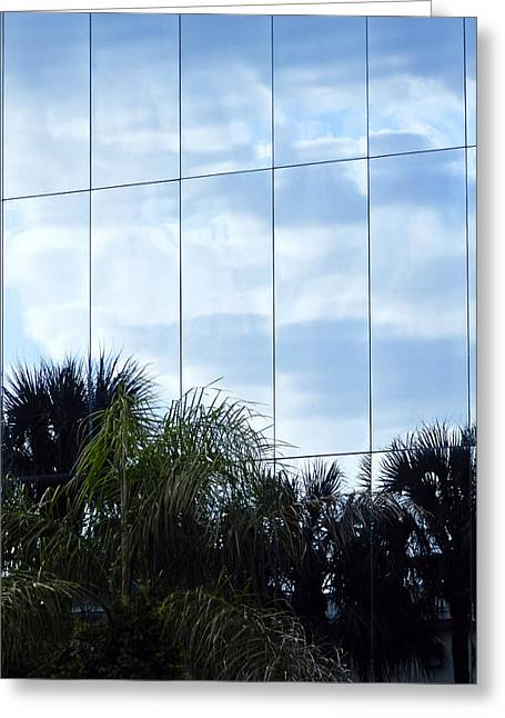 Architectur Greeting Cards - Mirrored Facade 1 Greeting Card by Stuart Brown