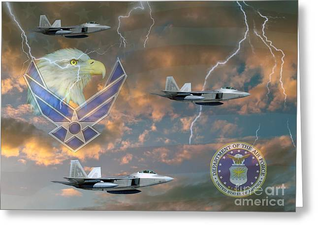 Gallantry Greeting Cards - Mission First  Greeting Card by Ken Frischkorn