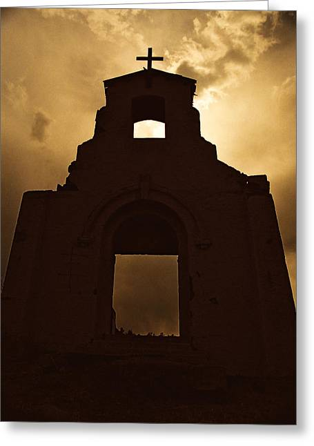 Morley Greeting Cards - Mission Of The Sun Greeting Card by Ron Weathers