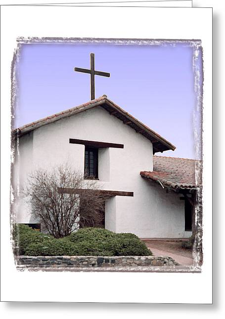 Mission San Francisco Solano - I Greeting Card by Ken Evans