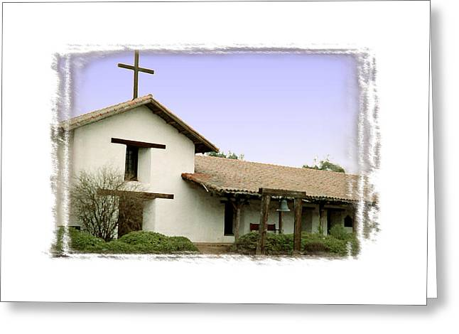 Mission San Francisco Solano - II Greeting Card by Ken Evans
