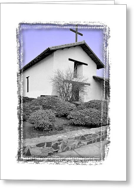Mission San Francisco Solano - IIi Greeting Card by Ken Evans