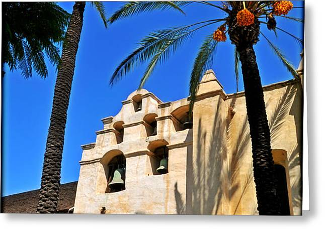 Mission San Gabriel Arcangel Greeting Card by Lyle  Huisken