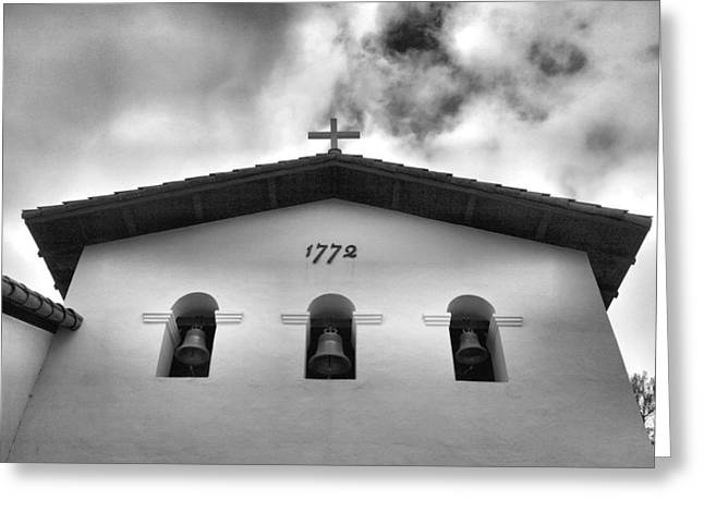 Christian Note Cards Greeting Cards - Mission San Luis Obispo I Greeting Card by Steven Ainsworth