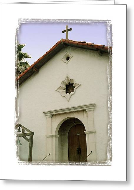 Mission San Rafael Greeting Cards - Mission San Rafael Arcangel - I Greeting Card by Ken Evans