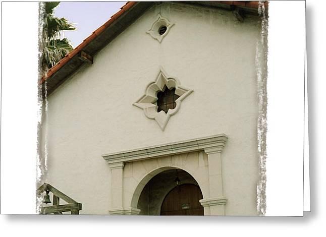 Mission San Rafael Arcangel - I Greeting Card by Ken Evans